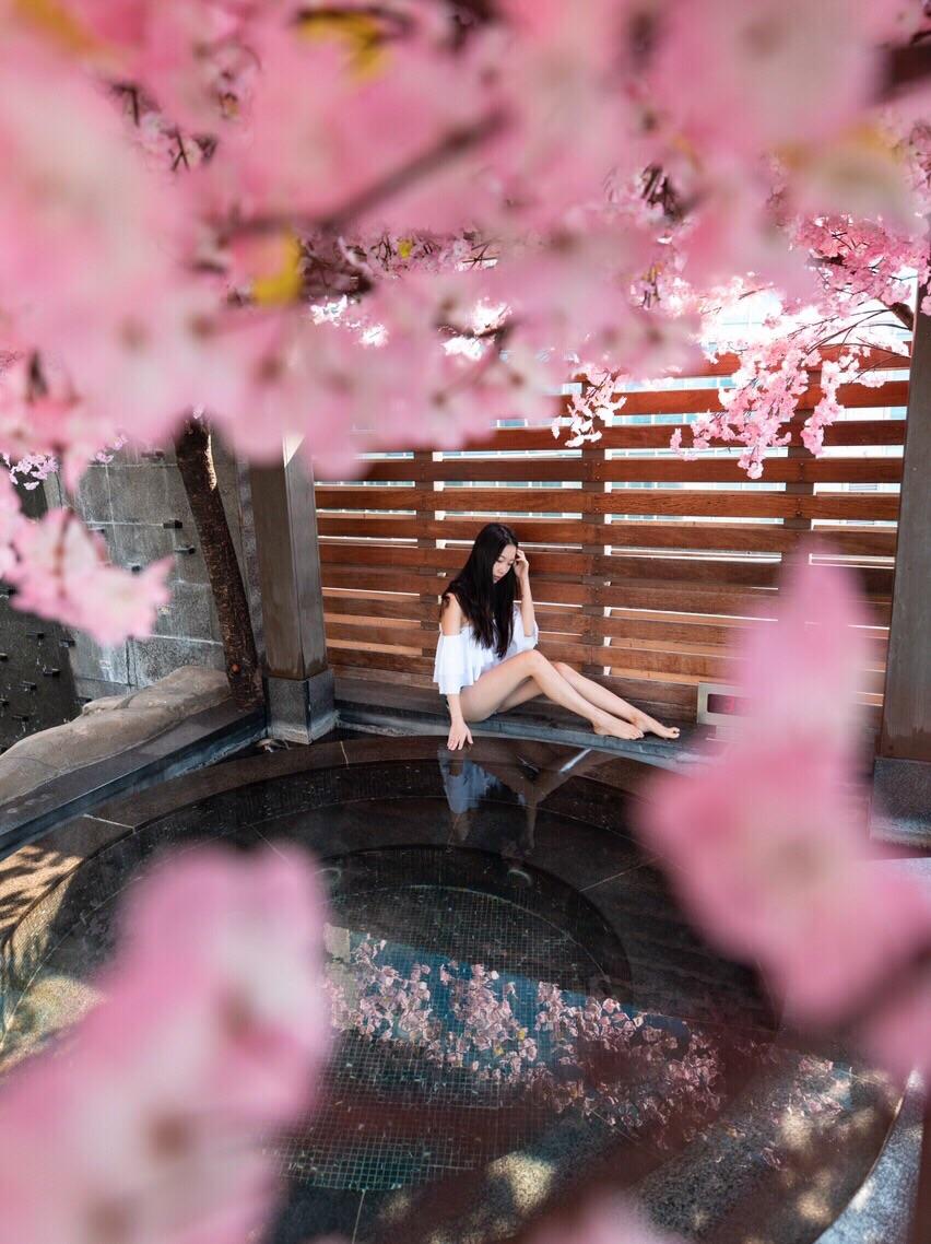 韩国釜山 | 谁不想跟女友浪漫约会看樱花呢