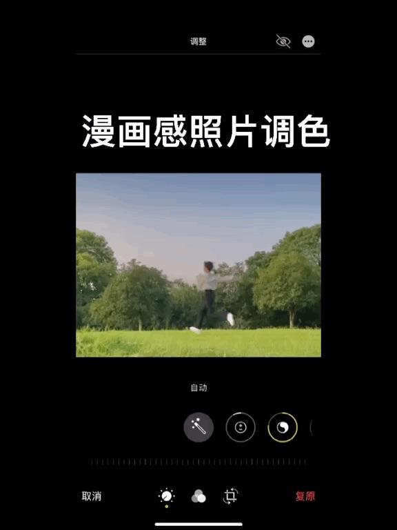 07.31打卡 iPhone调色分享 漫画感照片