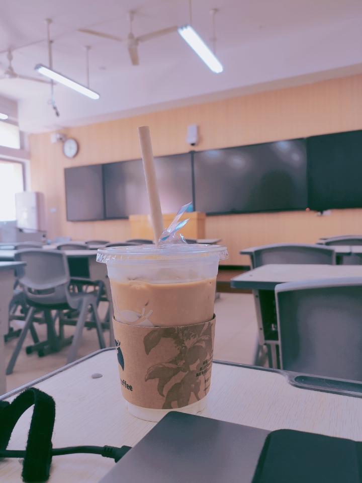 09.20打卡   Ice Café Latte